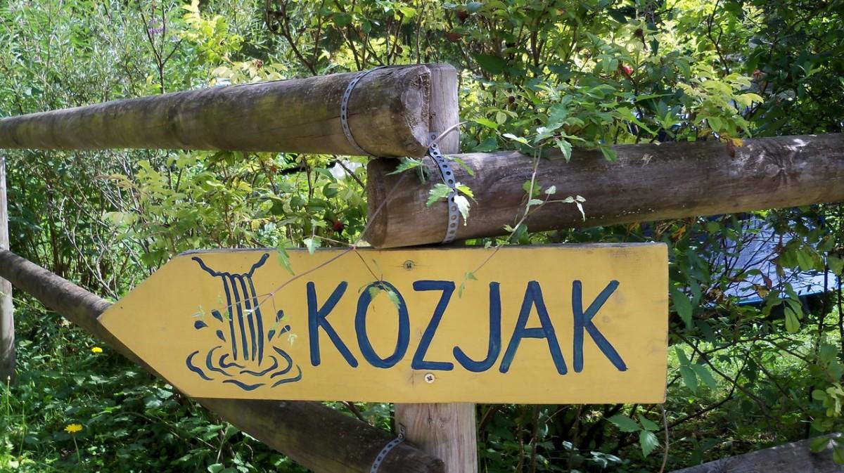 Cascata Kozjak - Kobarid SLO