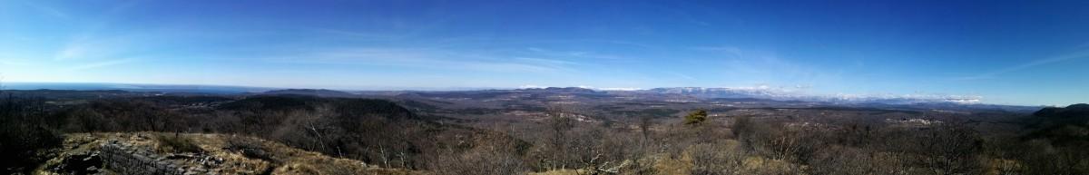 Monte San Leonardo : sentiero cai n° 10 - 45