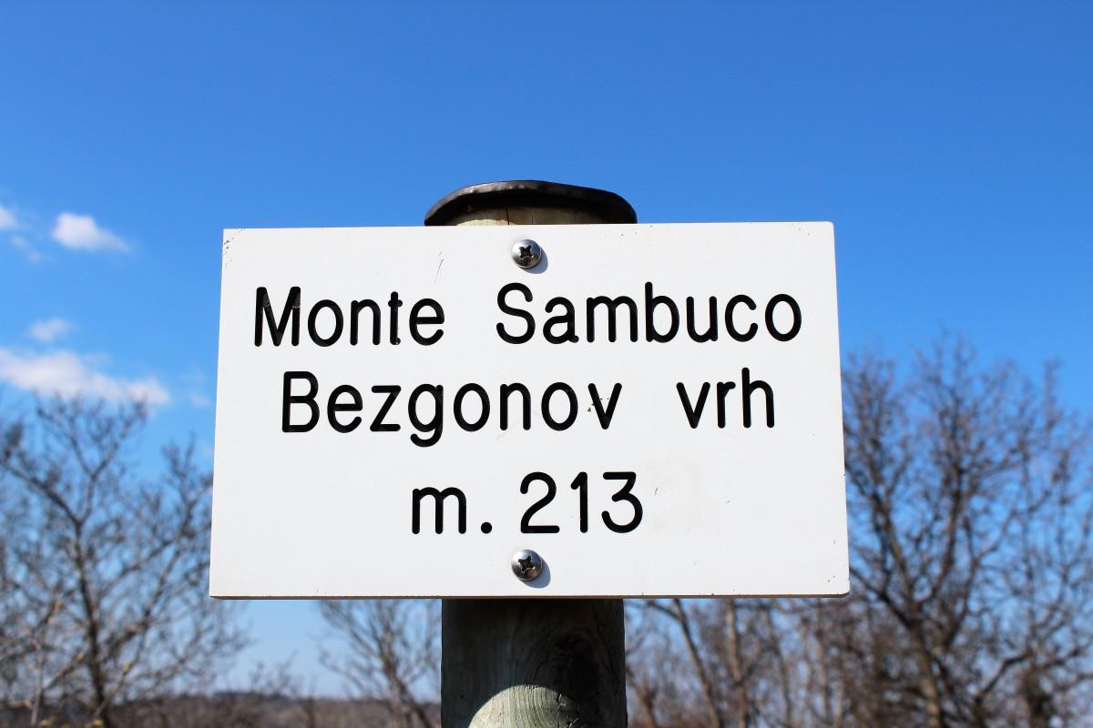 Monte Sambuco m.213 s.l.m. sentiero n°31 - 3